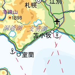 森町 八雲町の名所地図 電子国土版 Mash Up The Linked Open Data Link Data Application
