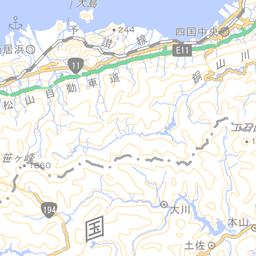 仁淀川水系 [880804]   国土数値情報河川データセット