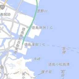 沿岸線鳥瞰写真 徳島県