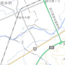 北海道空知郡赤平町 (01B0170017...