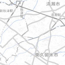 東京都西東京市 (13229) | 国勢調査町丁・字等別境界データセット