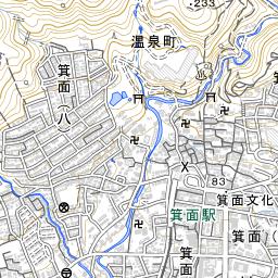 箕面鍋田川 [8606040078] - 淀川水系   国土数値情報河川データセット