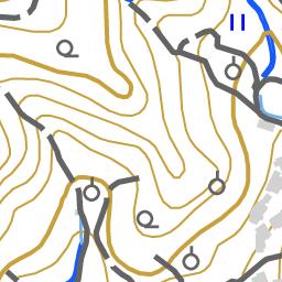手熊川水系 4076 国土数値情報河川データセット