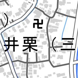 新潟県三条市井栗 国勢調査町丁 字等別境界データセット
