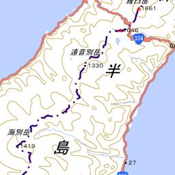 斜里岳の登山ルート コースタイム付き無料登山地図 Yamap ヤマップ