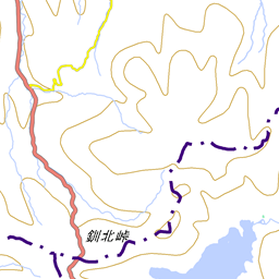 雄阿寒岳の登山ルート コースタイム付き無料登山地図 Yamap ヤマップ