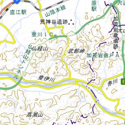 出雲駅伝コース 地図蔵