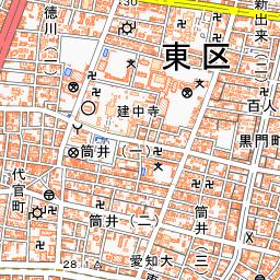 名古屋市電葵町線 路線図 - 鉄道...