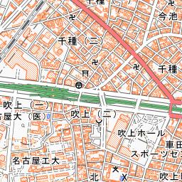 名古屋市電高岳延長線 路線図 - ...