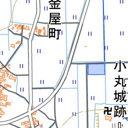 小丸城 福井県越前市 の見どころ アクセスなど お城旅行と歴史観光ガイド 攻城団