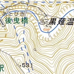 黒薙 くろなぎ 温泉 ルート The Japan Alps