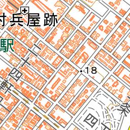 二十四軒駅 地図ナビ