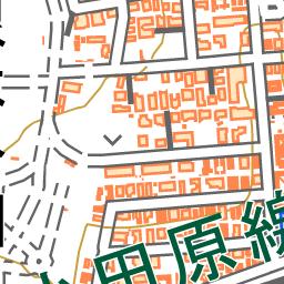 梅ヶ丘駅 地図ナビ