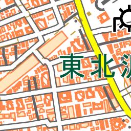 東北沢駅 地図ナビ